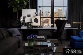 现代时尚家庭办公室设计
