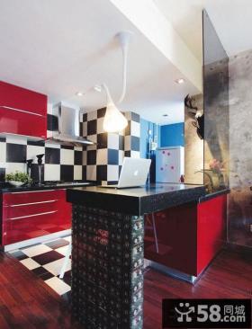 现代60平米小户型卧室精美壁纸图片