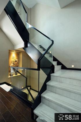 中式家居风格别墅楼梯设计