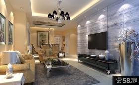 优质欧式客厅电视背景墙效果图