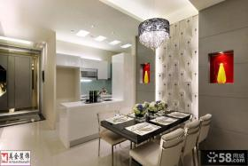 厨房与餐厅隔断装修设计