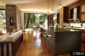复式楼装修效果图 优质复式楼厨房装修效果图