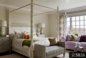 欧式主卧室装潢设计图