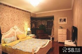 欧式田园风格卧室图