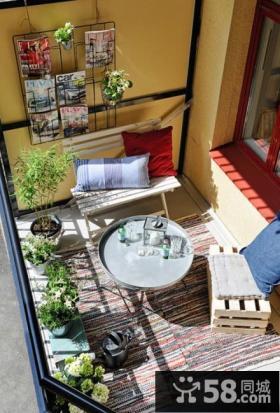 现代时尚的客厅阳台窗帘装修效果图大全2012图片