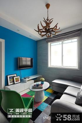 小客厅装修效果图 现代客厅吊顶装修效果图