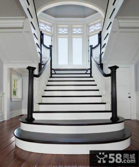 现代时尚设计楼梯效果图大全