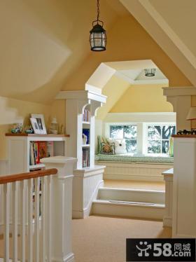 飘窗阁楼装修设计效果图大全