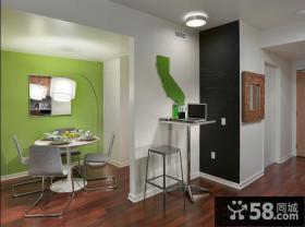 现代家装小餐厅装修效果图大全2013图片