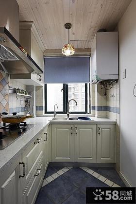地中海设计装修厨房图大全