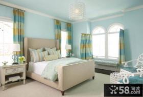80平米小户型女生卧室装修效果图