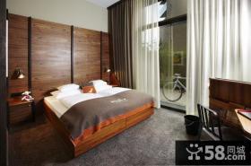 15万打造唯美的现代简欧装修风格卧室窗帘装修效果图
