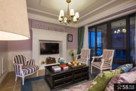 美式风格装饰客厅效果图