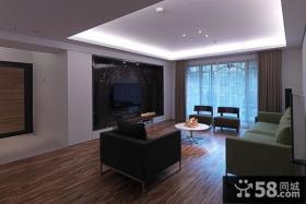 家装设计装修客厅吊顶欣赏图