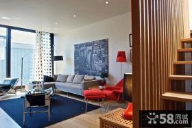 复式楼装修效果图 小复式客厅装修效果图