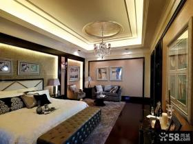 美式新古典风格卧室设计效果图欣赏大全