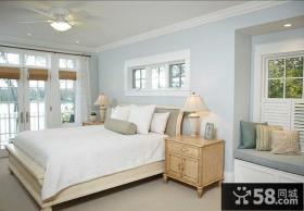 北欧风格别墅卧室装修图