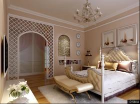 欧式卧室家居装修效果图欣赏