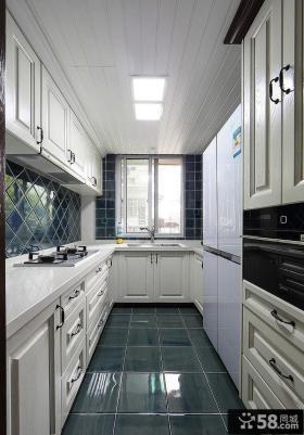 欧式厨房设计装饰效果图片欣赏