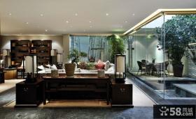 豪华现代中式别墅设计装潢