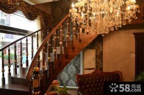 豪华别墅美步楼梯图片