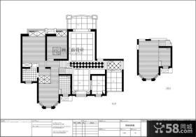 170平米复式楼平面图