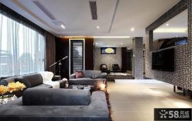 时尚大气现代客厅装修设计