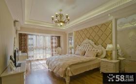 欧式豪华装修两室两厅卧室设计