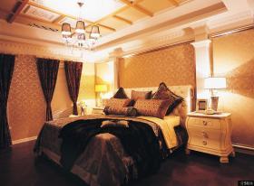 奢华主卧室吊顶装修效果图大全图片