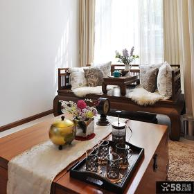 新中式复式家居装修案例