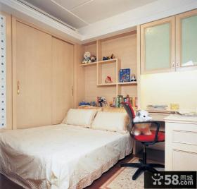小空间卧室壁柜门图片