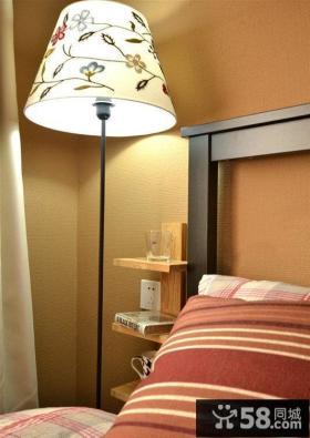 卧室3D台灯灯罩贴图