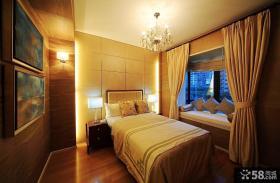 小户型卧室飘窗装修效果图大全2013图片