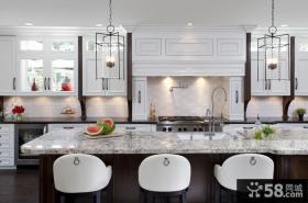 简欧白色整洁的厨房装修效果图大全2012图片