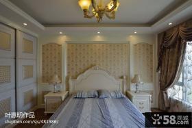 别墅欧式卧室装修效果图大全2013图片
