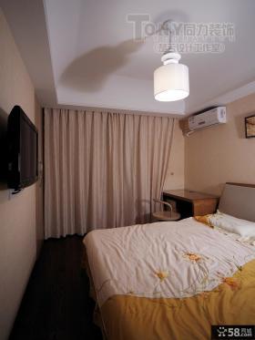 优质简装卧室效果图大全2014