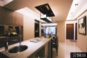 现代家装餐厅吊顶设计图