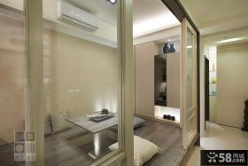 现代日式三室两厅效果图