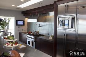 别墅图片大全 厨房装修效果图大全2012图片
