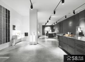 美式现代风格别墅厨房装修效果图大全2012图片