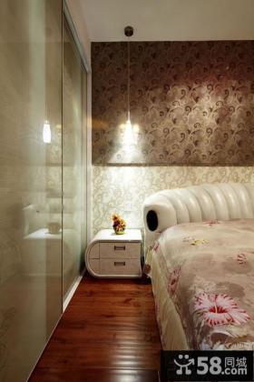 欧式家装设计卧室床头图片大全欣赏