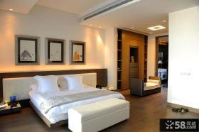 四居卧室简约风格装修效果图