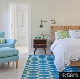 简约欧式风格卧室设计效果图