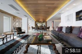 新古典风格精装海景别墅内部装修图欣赏