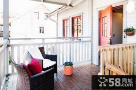 小复式楼阳台设计