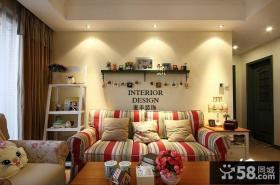 客厅沙发背景墙装饰效果图欣赏