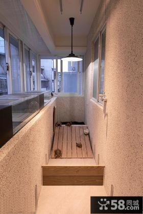 简单风格装修阳台设计图片