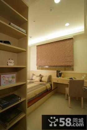 135平米现代风格三室一厅装修图片