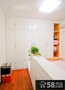 欧式风格卧室衣柜图片大全