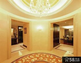 别墅室内玄关装修设计
